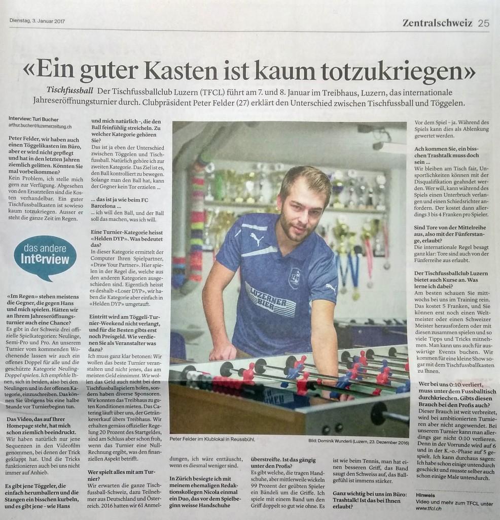 TFCL Luzerner Zeitung