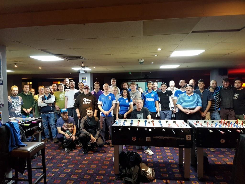 Alle Teilnehmer des OS am London Open.