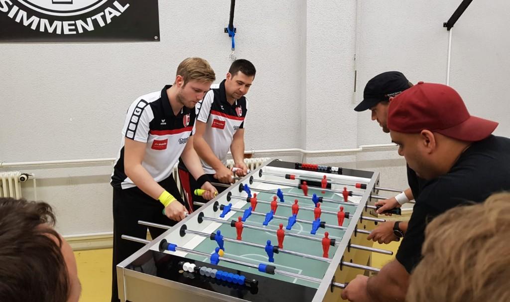 Finale Offenes Doppel: Hannes und Salzi gegen Florian und Märcu (Bild: An)