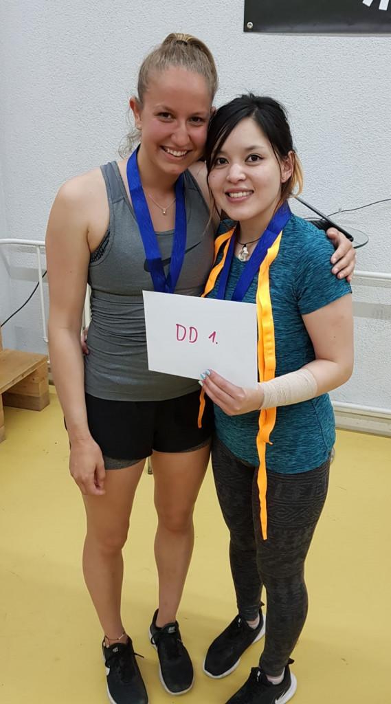 Die grossen Siegerinnen aus Luzern: Janine und An (Bild: An).