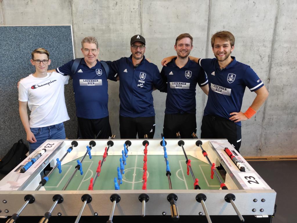 TFCL Mitglieder am Samstag: Seya, Dani, Manu, Hannes und Martin (v. l. n. r.) (Photo: M. Maccia 2021)